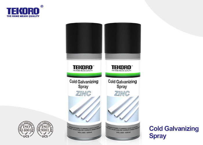 Cold Galvanizing Spray / Corrosion Inhibitor Spray For Steel Long Term Rust Prevention